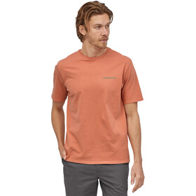 Patagonia Summit Road Organic T-Shirt Homme, mellow melon